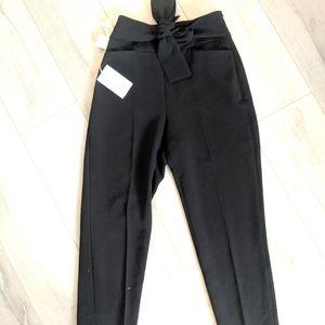 Aritzia, tie front, Geneva pants. BNWT